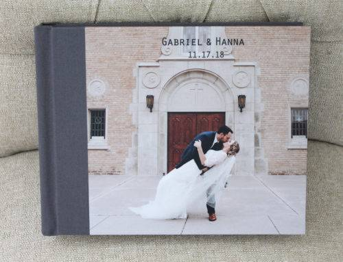 Featured wedding photo album of the week: Hanna and Gabriel